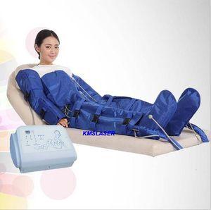 Terapia de uso spa pressoterapia terapia presoterapia pressão de ar drenagem linfática massagem presoterapia perda de peso moldar presoterapia máquina