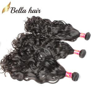 Bella Hair® 8A New Hair Products / lot brésilien naturel Vague humaine Cheveux 8 ~ 30inch Indien malais du Pérou Hair Extensions Livraison gratuite