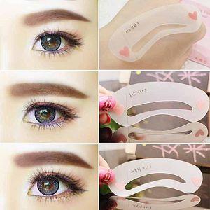 Sopracciglio sourcil formant gabarit gabarit modèle femmes beauté maquillage outils utilisation facile