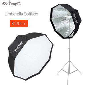 "Freeshipping 120cm 48 ""Umbrella Octagon Softbox Flash Estúdio Refletor Softbox Para Câmera Speedlite"