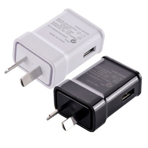 Au wall charger High quality 5V 2A AU Plug USB AC Power wall home charger for Samsung Galaxy Note 2 3 4 N7100 S5 S4 S6 S7