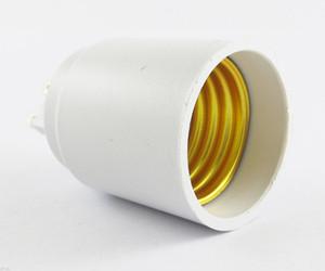 50 adet G9 Erkek E27 Kadın Soket Baz LED Halojen CFL Ampul Lamba Adaptörü
