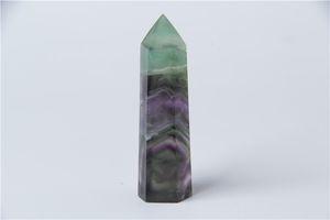 HJT 33g vente chaude Nouveau point de cristal fluorite naturelle rêve quartz POINTS GUÉRISON cristal baguettes de quartz pour la vente