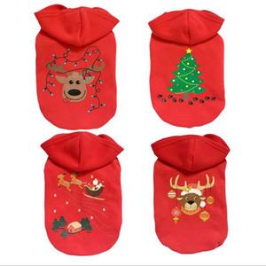 Vestiti di Natale di alta qualità Pet Puppy Dog Costume Outwear Coat Apparel Hoodie Pet vestiti per cane di piccola taglia F20171839