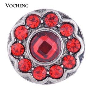 VOCHENG NOOSA 18mm 4 Farben Glam Birthstones Ginger Snap Jewelry Vn-1013