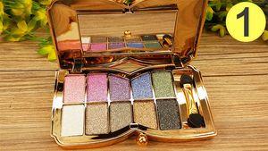 10 Renk Elmas Parlak Renkli Göz Farı Glitter Göz Farı Makyaj Paleti Profesyonel Kozmetik Parti Masquerade