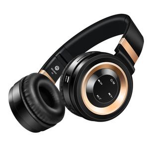 Bluetooth Kopfhörer mit Kabel HiFi Stereo Sound Portable Wireless Headset mit Mikrofon TF-Karte Buchse Über-Ohr für Handy und Computer
