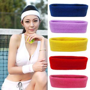 Donna Uomo Sport Sweatband Fascia Fascia Yoga Palestra Stretch Head Fascia per capelli prezzo all'ingrosso migliore qualità