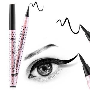 Гладкая водонепроницаемая жидкая подводка для глаз подводка для глаз ручка макияж косметический черная магия Maquiagens Rimel Colossal Delineador