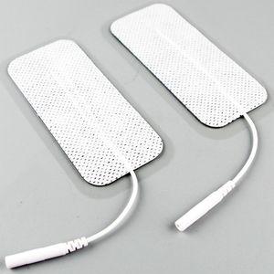 مستطيل e- stim القطب الوسادة وحدة عشرات الوخز بالإبر آلة العلاج الرقمية مدلك منصات استبدال المثيرة