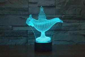 2017 Magic Lamp TDP-3D optische Nachtlicht 9 LED-Nachtlicht DC 5V Fabrik Großhandel