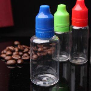 Wholesale 30ml ChildProof Tamper Lid Bottles 1OZ Plastic Dropper Bottles for 30ml Ejuice eliquid Essence Oil HOT Sale in USA UK Canada