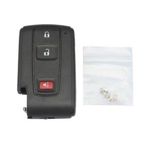 Nero 3 pulsanti di ricambio coperture chiave a distanza di caso Fob Chiave per il periodo 2004-2009 Toyota Prius CIA_40W