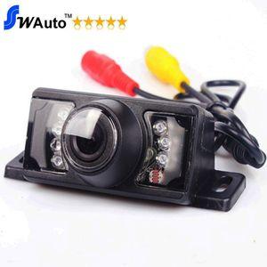 7 IR LED للرؤية الليلية سيارة الرؤية الخلفية السيارة عكس الكاميرا HD 140 زاوية عدسة للماء (اختياري مراقب / مرآة الخلفية)