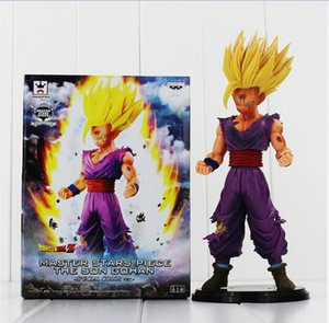 Gohan Figura Dragon Ball Z Meistersterne Stück MSP Der Sohn Gohan PVC Action Figure Spielzeug Sammeln Modell Puppe Freies Verschiffen