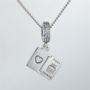 Encantos-CUMPLEAÑOS 16 S925 genuinos ajustes de plata esterlina para las pulseras del encanto del estilo de pandora envío gratis aleCH630H9