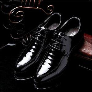2018 New High Quality Genuine Leather Men Shoes Brogues, Lace-Up Business Men Oxfords Shoes Men Dress Shoes size: EU38-44