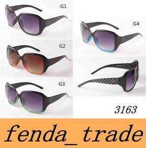 Sonnenbrille 3163 der neuen Art und Weisegroßen Sonnenbrille der Art und Weisegroßen Rahmen Sonnenbrilledamen-Tendenzgläser UV400 Qualität MOQ = 10