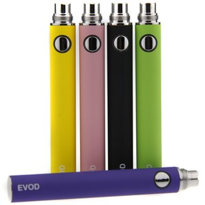 E Cigarette Evod Battery Electronic Cigarette Evod Battery 650mAh 900mAh 1100mAh For E Cig Mt3 Ce4 Atomizer For Free Shipping