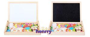 nouvelle musique de combat magnétique combat. Sketchpad dual puzzle, jouets éducatifs pour enfants en bois de la petite enfance.