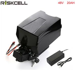 48v 1000w bateria de bicicleta elétrica 48V 20Ah para 48v Bafang / 8fun 1000w / 750w motor de acionamento médio / central com carregador e caixa de sapo