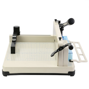 """YG 858 Model 12"""" Paper Cutter Guillotine A4 Paper Trimmer Metal Base Scrap booking Industrial 600 Sheets"""