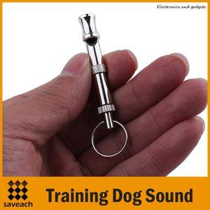1 stücke UltraSonic Pet Einstellbare Ausbildung Hund Sound Pfeife Silber Koudi Hundetraining Gehorsam Hohe Qualität Freies Verschiffen Großhandel
