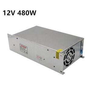 12V 40A 480W Switching Power Supply Driver Transformer For 5050 5630 3528 LED Strip Light modules CCTV AC100V-240V to DC 12V Output