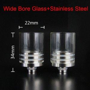 Красочные прозрачные стеклянные наконечники для капель Chuff Enuff Советы для капель для Atty Tobh Stillare Enigma RDA RBA механический мод E бак для сигарет