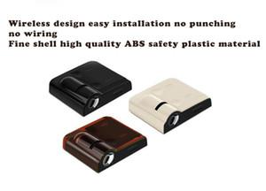 유니버설 무선 자동차 도어 라이트 로고 프로젝터 환영 LED 램프 프로젝션 라듐 램프 자동 동기 인테리어 부품