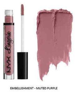 DHL free Lips Cosmetics NYX Matte Liquid Lipsticks NYX Lip Lingerie Lipgloss 12 Shades Lips Makeup
