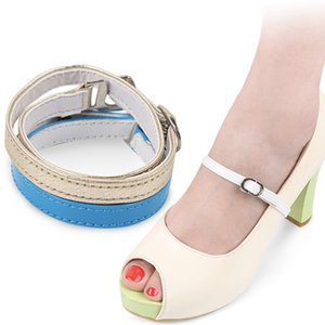 가죽 하이힐 DIY 신발 끈 여러 가지 빛깔 없음 타이 게으른 끈 28cm 높은 품질 성인 신발 밴드 신발 액세서리