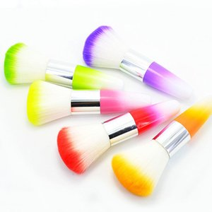 Color Nail Art Dust Cleaner Brush Tool for Acrylic UV Gel Powder Remover Kit # R48