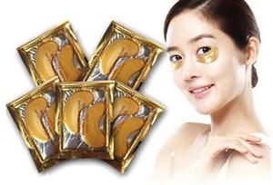 Collagène Or Poudre Masque Pour Les Yeux Cristal Anti-Rides Masque Pour Les Yeux 24K Golden Mask s'en tenir aux cernes