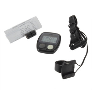 Sunding SD-536 Waterproof Digital LCD Bike Computer Cycle Bicycle Speedometer Odometer 14 Functions LR44 button include battery