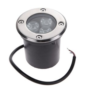 AC85-265V 3 * 3W chips de LED Light Underground IP67 Enterrado Recessed 9W Floor Lamp exterior