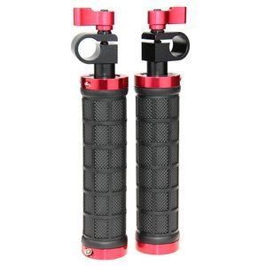 CAMVATE 2x Novo DSLR Lidar Com apertos w / rod braçadeira fr 15mm Rod Rig rail Suporte tripé de câmera