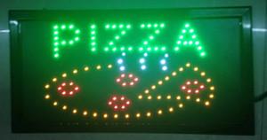 2016 direkt satış özel led ekran 10X19 inç yarı outdoorPizza Dükkanı AÇIK Işık Sign-led reklam panoları Toptan imzalar