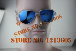 Wholesale-Fashion flash lenswomen sunglasses , stand out model 59mm reflection glasses , fast shipping uv protections cats eye sunglasses