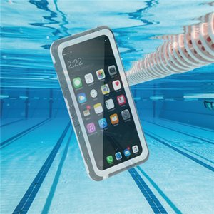 Waterproof cases for Iphone 8 Goophone I7 Unerwater phone Cover Pass IP-68 Color Boxes packing
