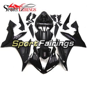 Carenados completos de la motocicleta Gloss Matte Black para Yamaha YZF1000 R1 2004 2006 Injection ABS Fairings Cabritos de la carrocería de la motocicleta