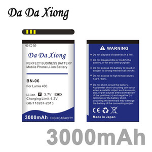 Bateria Da Da Xiong 3000mAh BN-06 BN06 Li-ion Bateria para Microsoft Nokia Lumia 430 Lumia430
