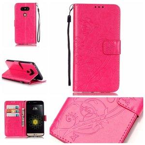 Fleur Wallet Pochette en cuir pour LG K8 2018 K10 M2 G5 G4 K4 LS770 Stylus K7 2 LS775 MOTO Stylo G3 G4 X-Play Card Support Housse de luxe
