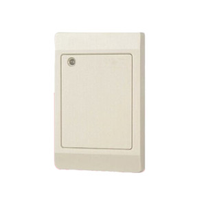 Free Shipping standard Waterproof White color Default 125Khz EM RFID Reader WG26   34 Card Key fob Reader Access Control System