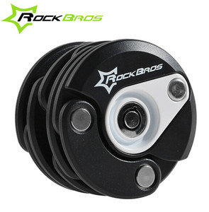Wholesale-Rockbros Bike Antitheft Lock Bicycle Foldable Chain Lock Hamburg Design With Key