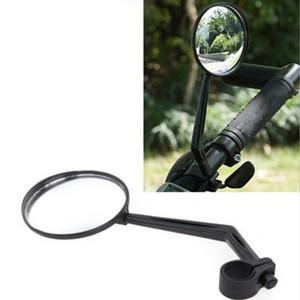 Novos Esportes Bicicleta Bicicleta Guiador Espelho Retrovisor de Vidro Espelho de Segurança Reflexiva Espelho Retrovisor Convexo Ciclismo Acessório