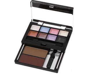 8 цвет палитры теней для век макияж глаз Neked тени для век палитры косметические с кистью жемчужина голые макияж тени для век