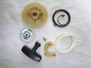 Kit de reparación de arranque retroceso 7pcs / set para Yamaha MT65 ET650 ET950 TG950 Generador 1E45F