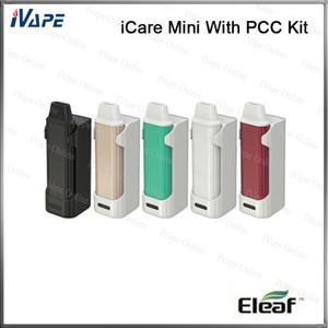 100 % 기존 Eleaf iCare Mini with PCC 키트 1.8ml 내부 탱크 공기 흐름 시스템 320mah iCare Mini 2300mh iCare Mini PCC attery