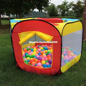 놀이 실내와 옥외 쉬운 접는 공 구덩이 은신처 천막 놀이 오두막 집 Playhouse Kids Tent